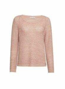 Womens Only Blush Knitted Jumper - Pink, Pink