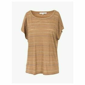 Gerard Darel Julie Striped T-Shirt, Brown