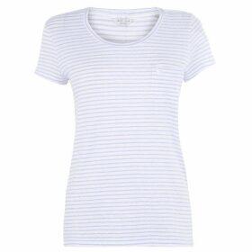 Jack Wills Womens Fullford Striped T-Shirt