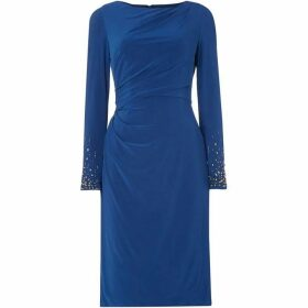 Adrianna Papell Long sleeve dress - Blue