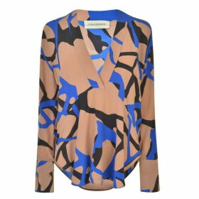 By Malene Birger Divana Blouse - Cobalt