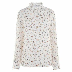 Iblues Staffa printed shirt blouse - White