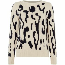 Max Mara Studio Albata crew neck sweater - Black & White