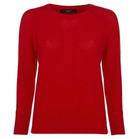 Max Mara Weekend Fiorigi cew necj - Red