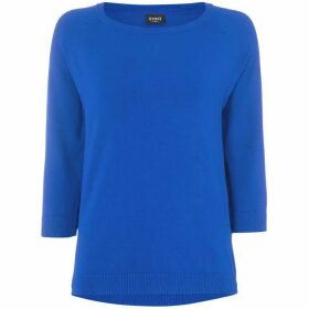 Emme Nic long sleeve crew neck sweater - Blue