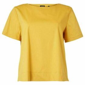 Emme Red crew neck short sleeve top - Yellow