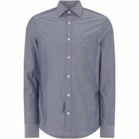 Gant All Over Dobby Design Shirt - Marine