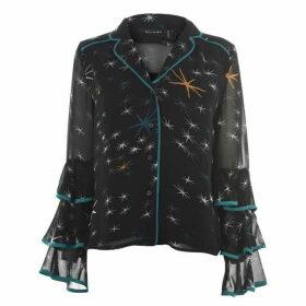 Religion Elation star print shirt - Black