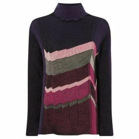 Crea Concept Stripe knit jumper - Multi-Coloured