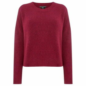 Crea Concept Long sleeve colour block jumper - Pink