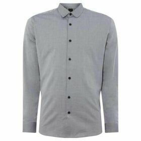 Selected Homme Slim fitted long sleeved shirt - Light Grey