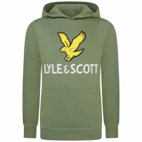 Lyle and Scott Eagle Logo OTH Jn00 - Hedge 490
