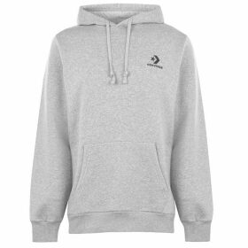 Converse Lifestyle Embroidered Hoodie - Grey