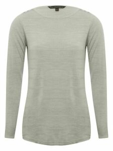 Women's Ladies Button Shoulder Jumper
