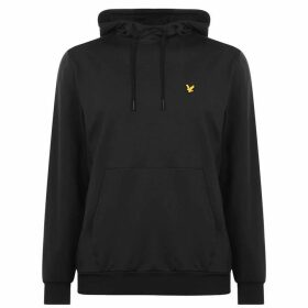 Lyle and Scott Sport Wicking OTH Hoodie - 572 True Black