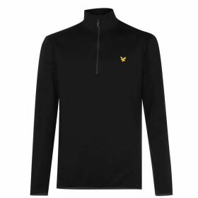 Lyle and Scott Lyle QZ Midlayer Snr 02 - True Black
