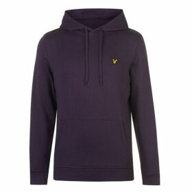 Lyle and Scott Lyle OTH Basic Logo Hoodie - Deep Plum