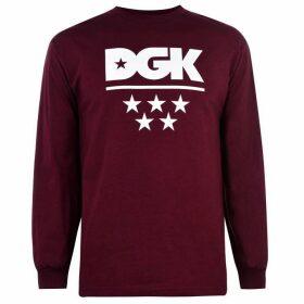 DGK DGK Long Sleeve T-Shirt Mens - All Stars
