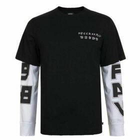 DIESEL T-Sound T Shirt - Black/White 900