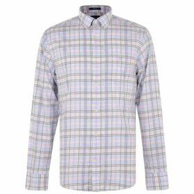 Gant Gant Long Sleeve Shirt - Blue 420