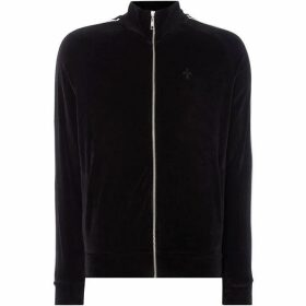 Criminal Damage Piping Track Top - Black