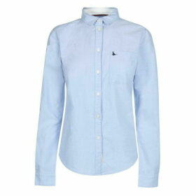 Jack Wills Homefore Classic Shirt - Pale Blue