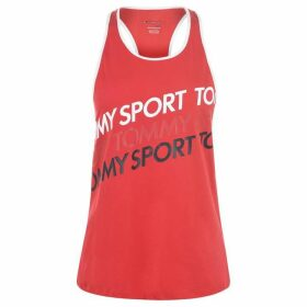 Tommy Sport Graphic Tank Top - True Red