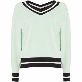 Sportmax Code Vertice v neck sweater - Green