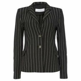 Iblues Affari stripe blazer - Black