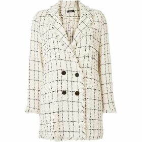 Emme Jana double breast collar jacket - Off White