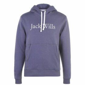 Jack Wills Batsford Heritage Hoodie - Dusk Blue