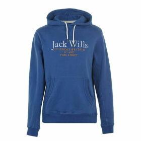 Jack Wills Batsford Hoodie - Cornflower