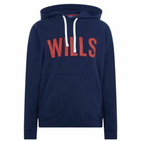 Jack Wills Stokeford Graphic Hoodie - Navy