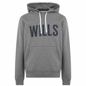 Jack Wills Stokeford Graphic Hoodie - Grey Marl