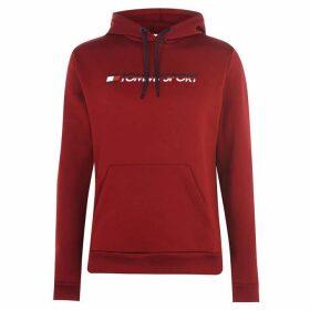 Tommy Sport Fleece Logo Hoodie - Biking Red607