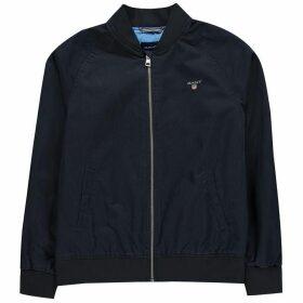 Gant Gant Ribbed Jacket - Evening Blue433