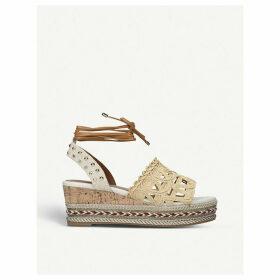 Lima embellished woven sandals