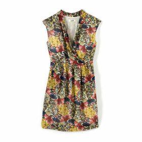 Sleeveless Exotic Print Dress