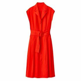 Cotton 50s Style Shirt Dress with Belt
