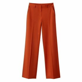 Wide Leg Trousers, Length 32.5