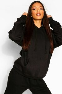 Womens Tall Solid Oversized Hoody - Black - M/L, Black
