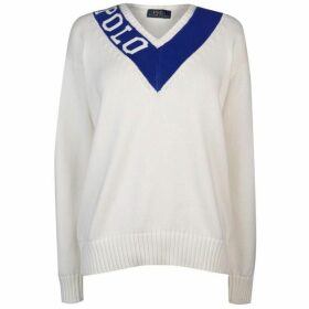 Polo Ralph Lauren V Neck Knit Sweater