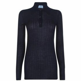 Prada Prada Polo Knit Jumper