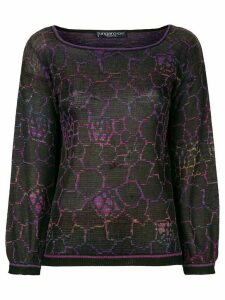 Emanuel Ungaro Pre-Owned geometric knit top - Multicolour