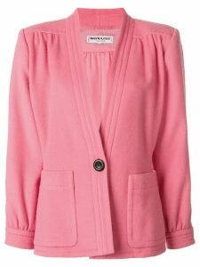 Yves Saint Laurent Pre-Owned single breasted jacket - PINK