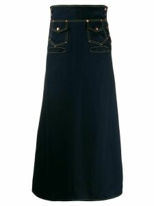 Jean Paul Gaultier Pre-Owned Long skirt - Blue