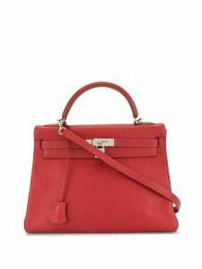 Hermès 2002 pre-owned Kelly Retourné 32 bag - Red