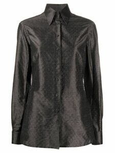 Gianfranco Ferré Pre-Owned 1990s button up shirt - Grey
