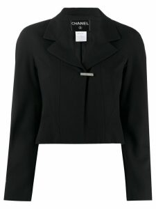 Chanel Pre-Owned 1999 cropped jacket - Black