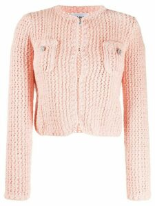 Chanel Pre-Owned 2010 knitted cardigan - PINK